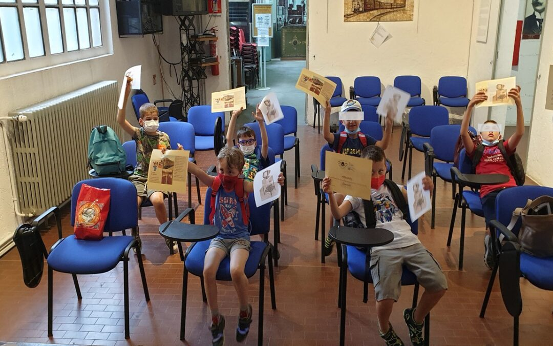 Ripartenza: i bambini vengono in visita al MILS!