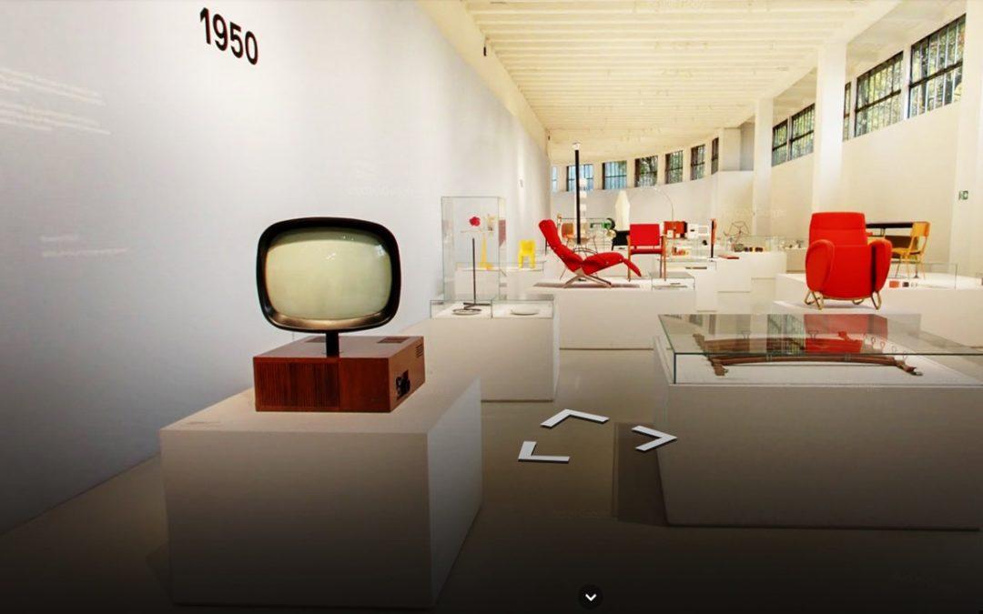 """Il """"TV girevole"""" della Phonola al Museo del Design Italiano"""
